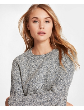 Shimmer Boucle Sweater by Brooks Brothers