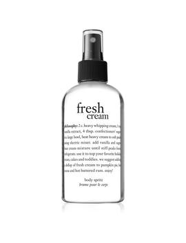 Body Spritz by Fresh Cream