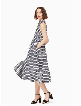Candy Stripe Shirtdress by Kate Spade
