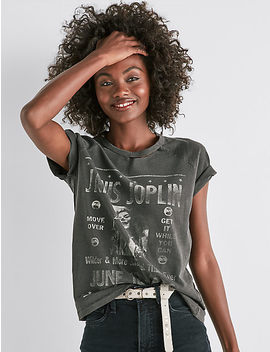 Janis Jopin Tee by Lucky Brand