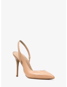 Eliza Leather Pump by Michael Michael Kors