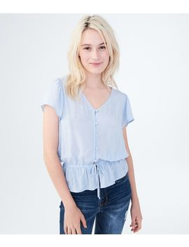 Clip Dot Button Front Top*** by Aeropostale