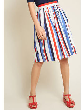 My Forever Favorite Cotton A Line Skirt by Modcloth