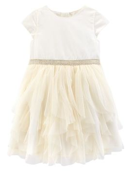 Waterfall Tulle Dress by Carter's