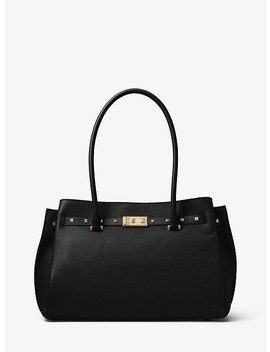 Addison Large Pebbled Leather Tote by Michael Michael Kors