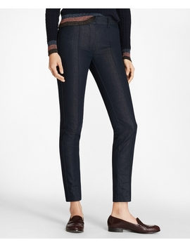 Denim Ankle Pants by Brooks Brothers