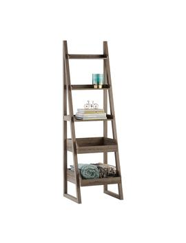 Rustic Driftwood Encore Narrow Bookshelf by Container Store