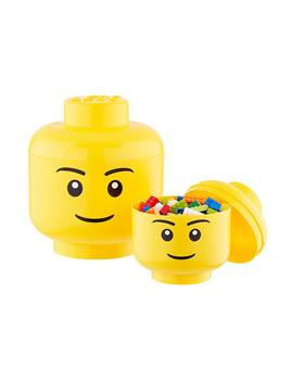 Lego Storage Heads by Container Store