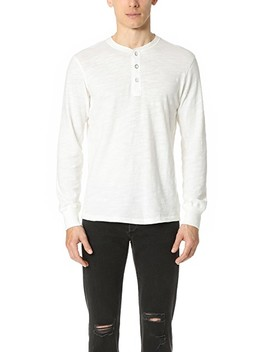 Basic Henley by Rag &Amp; Bone Standard Issue