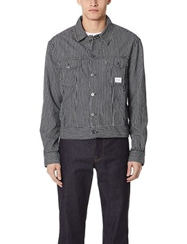 Teddy Stripe Jacket by Calvin Klein Jeans