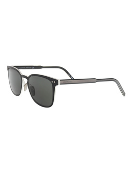 Mb584/S 02a Black Cat Eye Sunglasses by Montblanc
