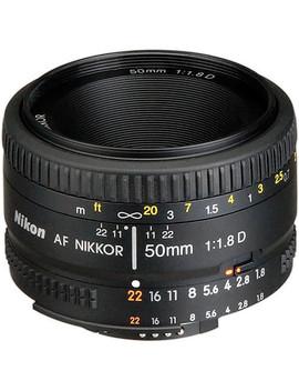 Af Nikkor 50mm F/1.8 D Lens by Nikon