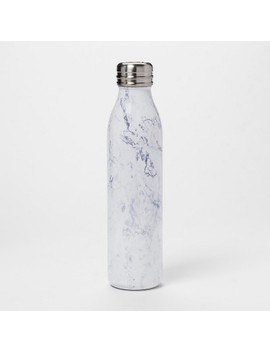 20oz-venti-air-transfer-stainless-steel-portable-water-bottle-white-marble---room-essentials by room-essentials