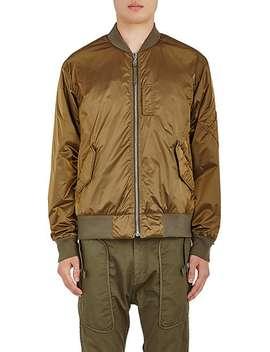 Ma 1 Reversible Flight Jacket by Helmut Lang