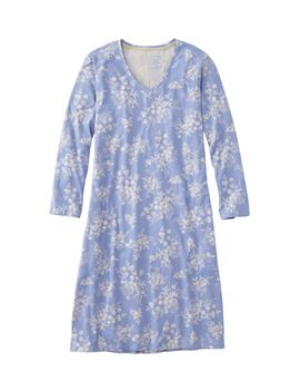 Organic Supersoft Shrink Free Nightgown, Print by L.L.Bean