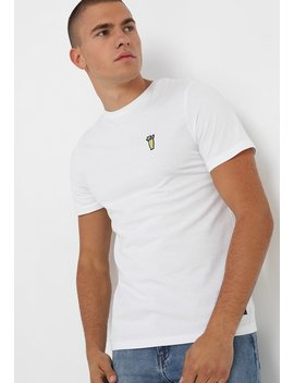 Pktgms Sunny Badge Tee   T Shirts Print by Produkt