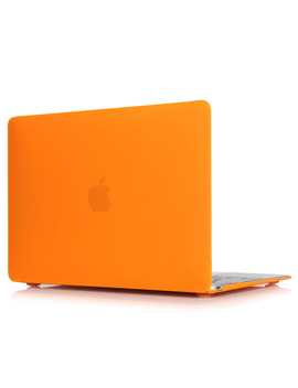 matte-rubberized-hard-case-cover-for-macbook-prolaptop-shell--air-13-inch-orange by zgpax