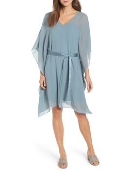 belted-caftan-dress by eileen-fisher