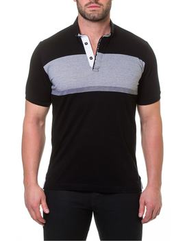 wide-stripe-polo by maceoo