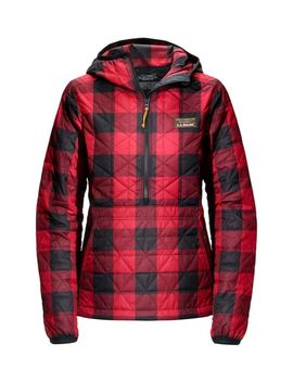 womens-katahdin-insulated-pullover,-print by llbean