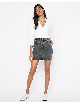 super-high-waisted-vintage-denim-mini-skirt by express