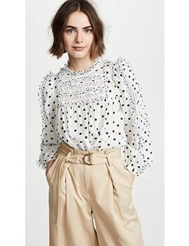 bailey-blouse by ulla-johnson