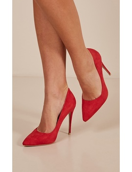 billini---rina-heels-in-red-micro by showpo-fashion
