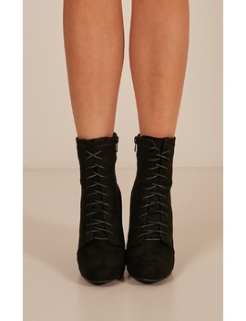 therapy---aiken-boots-in-black-micro by showpo-fashion