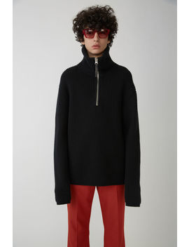 fisherman-sweater-black by acne-studios