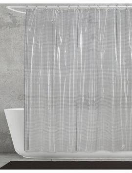 grey-linea-shower-curtain by creative-bath