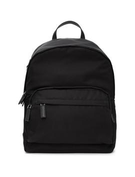 black-montagna-backpack by prada