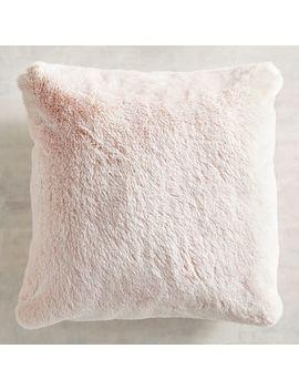 faux-fur-lynx-blush-pillow by pier1-imports