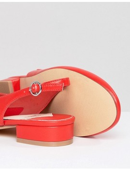 faith-amelia-red-sling-back-ballet-shoes by faith