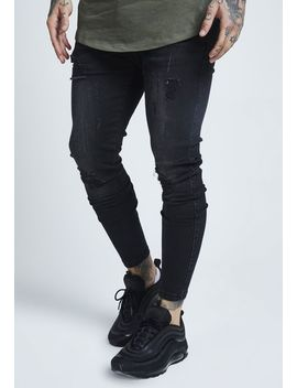 distressed---jeans-slim-fit by siksilk