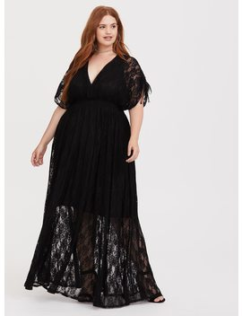 black-stretch-lace-maxi-dress by torrid