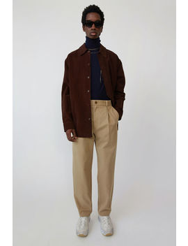 pleated-trousers-sand-beige by acne-studios