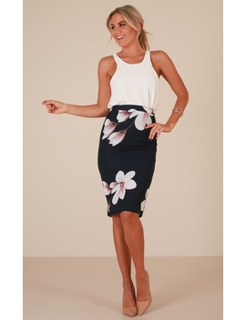 claim-it-back-skirt-in-navy-floral by showpo-fashion