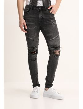 urban-biker---jeans-skinny-fit by new-look
