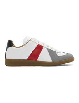 multicolor-colorblock-replica-sneakers by maison-margiela