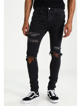 distressed-knee---jeans-relaxed-fit by mennace