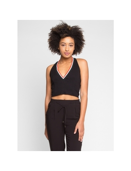 Get Set Halter Crop Top by Wet Seal