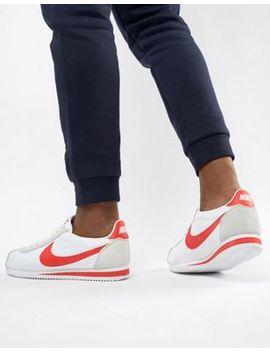 nike-–-classic-cortez-–-weiße-nylon-sneaker,-807472-101 by nike