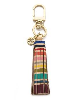 multi-color-tassel-key-chain by tory-burch