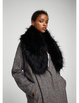 faux-fur-snood by mango
