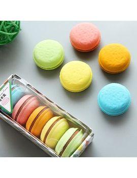 set-of-5:-macaron-erasers by youbuy