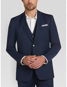tommy-hilfiger-navy-tic-slim-fit-vested-suit by menswearhouse