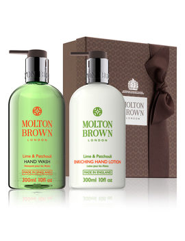 lime-&-patchouli-hand-wash-&-lotion-set by molton-brown