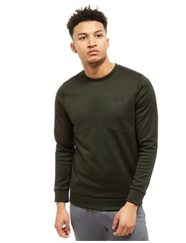 under-armour-fleece-poly-crew-sweatshirt by under-armour