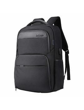 wasserdicht-laptop-rucksack-mit-usb-anschluss---arctic-hunter-schwarz-rucksack-passt-bis-zu-15,6-zoll-laptops-für-reise,-schule,-business,-arbeit by amazon