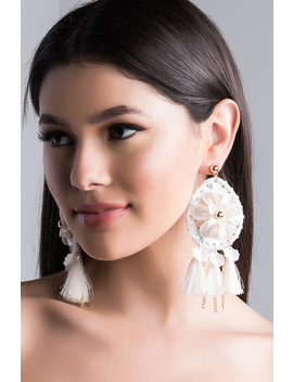 more-hits-fringe-statement-earring by akira